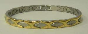 Фото Магнитные браслеты, Стальные Магнитный стальной браслет Джамила