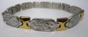 Фото Магнитные браслеты, Стальные Магнитный стальной браслет Дракон