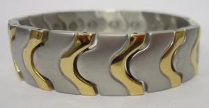 Фото Магнитные браслеты, Стальные Магнитный стальной браслет Лучиано