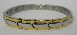 Фото Магнитные браслеты, Стальные Магнитный стальной браслет Мариотт