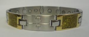 Фото Магнитные браслеты, Стальные Магнитный стальной браслет Георг