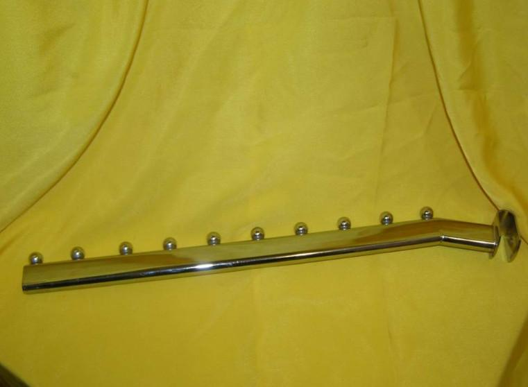Флейта на перекладину DEKA L-350мм хром