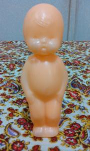 Фото антиквар, Игрушки Кукла голыш