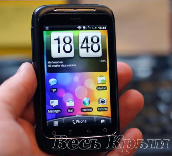Продам HTC Wildfire S A510e black б/у