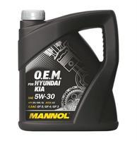 Фото Масла импортные , MANNOL MANNOL  5W-30 O.E.M. for Hyundai Kia синт. 4л