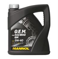 MANNOL  5W-40 O.E.M. for Daewoo GM синт. 1л