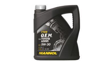 MANNOL  5W-30 O.E.M. for Toyota Lexus синт. 4л