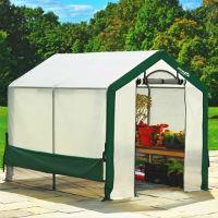 Фото Теплицы Теплица Greenhouse с прозрачным армированным тентом 1,8х2,4х2 м
