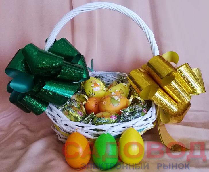 К Пасхе готов!  Оригинальные подарки на рынке Садовод