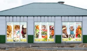 Фото Наружная реклама Оформление витрин