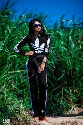 Костюм Adidas с капюшоном