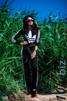 Костюм Adidas с капюшоном купить в Белой Церкви - Женские костюмы