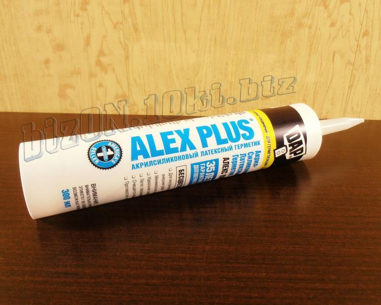 Акриловый латексный герметик с добавками силикона DAP® ALEX PLUS®     (Арт. Т58)