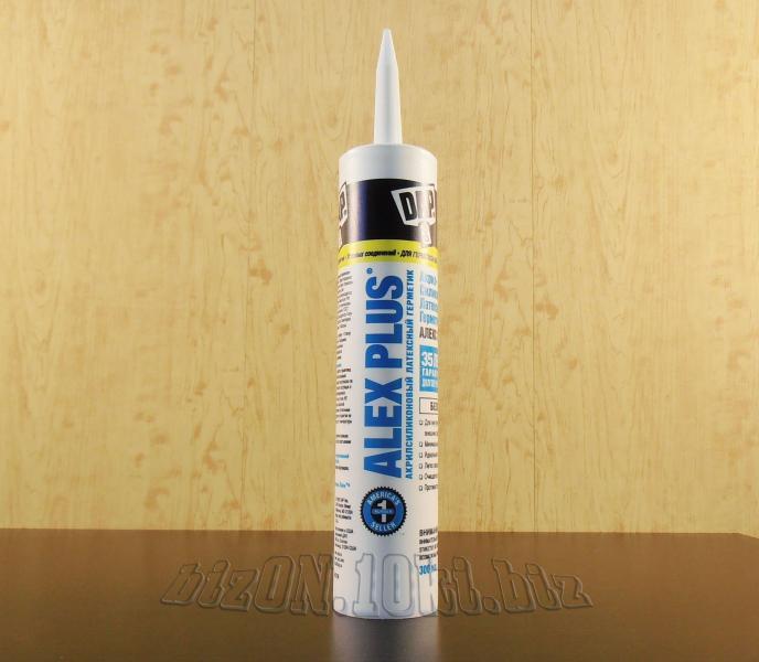 Фото Клей, Герметик Акриловый латексный герметик с добавками силикона DAP® ALEX PLUS®     (Арт. Т59)