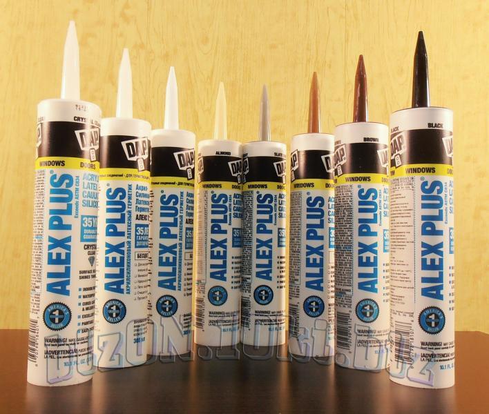 Фото Клей, Герметик Акриловый латексный герметик с добавками силикона DAP® ALEX PLUS®     (Арт. Т60)