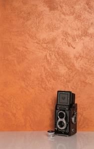 Фото  Декоративные краски - Candis Hoblio - эффект мелкого металлизированного песка .
