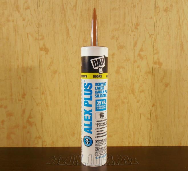 Акриловый латексный герметик с добавками силикона DAP® ALEX PLUS®     (Арт. Т62)