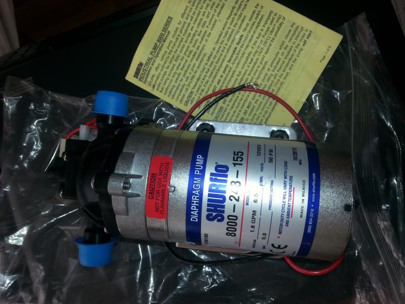 Диафрагменный насос SHURflo 8000-243-155