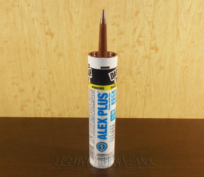 Акриловый латексный герметик с добавками силикона DAP® ALEX PLUS®     (Арт. Т63)