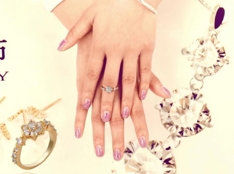 Кольцо на фалангу Цветок