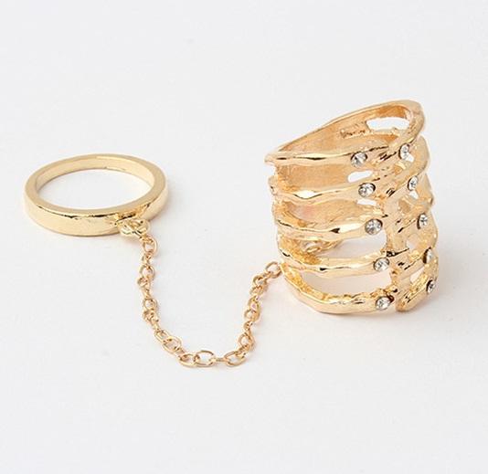 Кольцо на фалангу Мода
