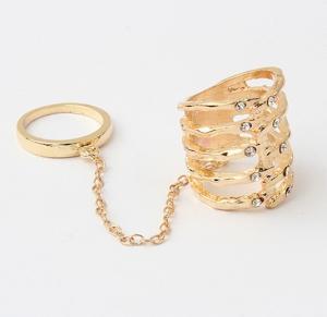 Фото Кольца Кольцо на фалангу Мода