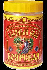 """Кедровая сила """"Боярская """""""