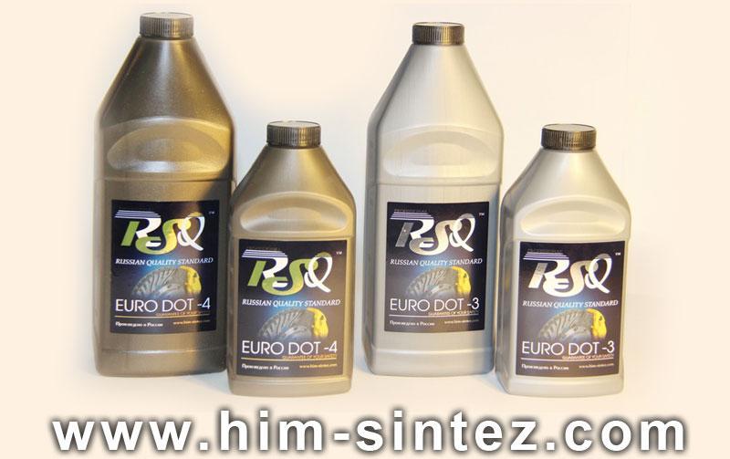 Тормозная жидкость Дот-4 Дот-3