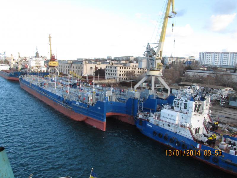 Услуги морского порта (причала) в Севастополе