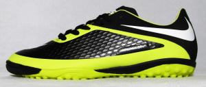 Фото СОРОКОНОЖКИ Сороконожки Nike Hypervenom черно-салатовые