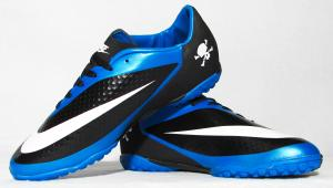 Фото СОРОКОНОЖКИ Сороконожки Nike Hypervenom черно-синие