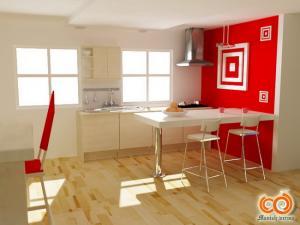 Фото Каталог кухонь, Барные стойки Барная стойка 1
