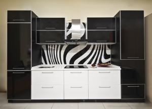 Фото Каталог кухонь, Кухни в алюминевой рамке Кухни алюминевая рамка 2