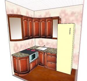 Фото Каталог кухонь, Маленькие кухни Маленькие кухни 2