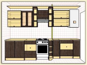 Фото Каталог кухонь, Кухни для 9 ти этажек Кухни для 9 ти этажек 2