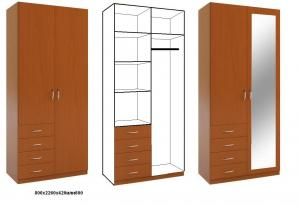 Фото Каталог шкафов , Шкафы распашные Шкаф распашной 7