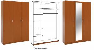 Фото Каталог шкафов , Шкафы распашные Шкаф распашной 8