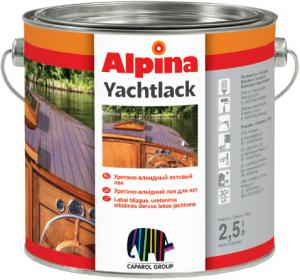 Фото Лаки Alpina Алкид.лак Alpina Yachtlack URLT 2.5L