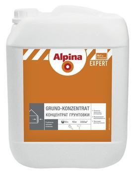 Грунтовка НВ П 1 Д Alpina EXPERT Grund-Konzentrat  10 литр