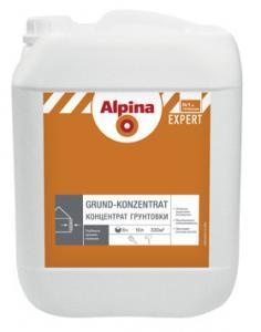 Фото Грунтовки Alpina Грунтовка НВ П 1 Д Alpina EXPERT Grund-Konzentrat  10 литр