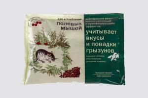 «К_с» от полевых мышей  180 гр.