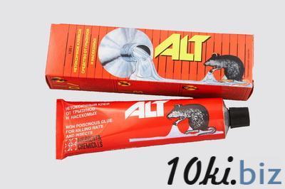 Клей АЛТ от грызунов и насекомых 135 гр. Защита от насекомых и грызунов в России