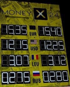 Фото Рекламно-информационные системы Табло курсов валют электронное светодиодное для улицы