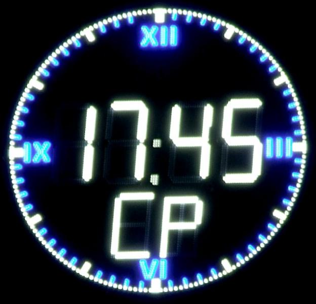 Часы для улицы электронные светодиодные большие