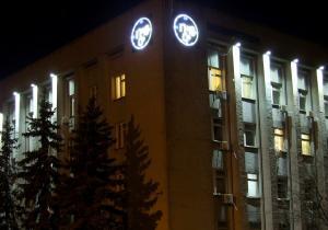Фото Рекламно-информационные системы Часы для улицы электронные светодиодные большие