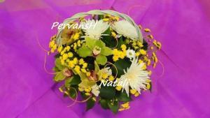 Фото Корзины из цветов и цветочные композиции Композиция №3