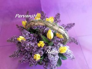 Фото Корзины из цветов и цветочные композиции Композиция №7