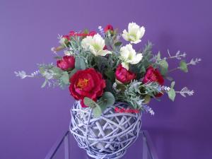 Фото Композиции из искусственных цветов Композиция №2