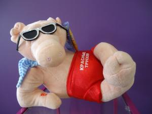 Фото Подарки и сувениры Интерактивная игрушка-Душевный поросенок