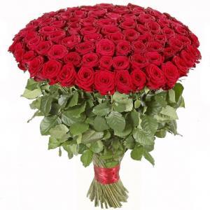 Фото Букеты, 101 роза Букет из 101 розы №1